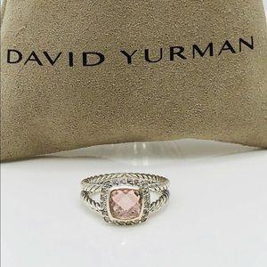 David Yurman Morganite Petite Albion Ring